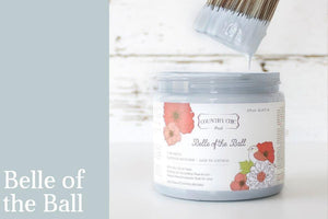 Belle of the Ball Chalk Style All-In-One Paint from Country Chic Paint - DIY eco friendly home decor paint