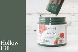 Hollow Hill Chalk Style All-In-One Paint from Country Chic Paint - DIY eco friendly home decor paint