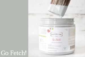 Go Fetch! Chalk Style All-In-One Paint - Spring/Summer Limited Edition Colors 2019 - Country Chic Paint - Furry Friends Collection - Donate to support pets and animal welfare across North America