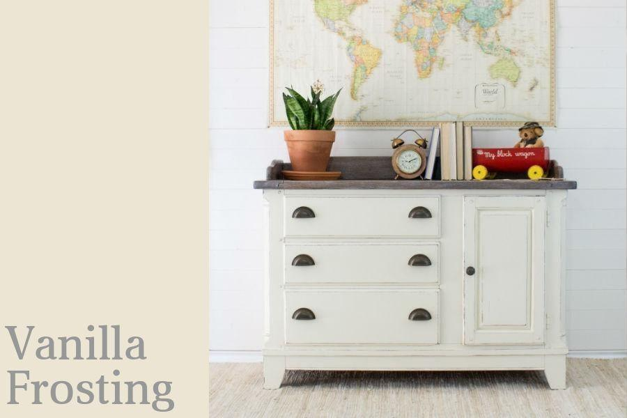 Vanilla Frosting Chalk Style All In One Paint By Country Chic Paint