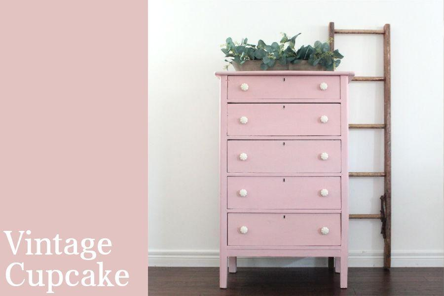 Chalk Style All-In-One Paint | Vintage Cupcake
