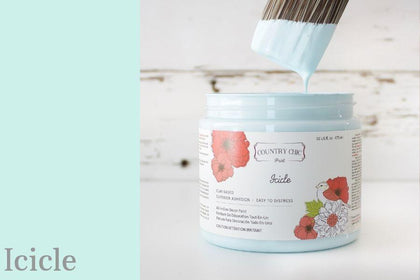Chalk Style All-In-One Paint | Icicle