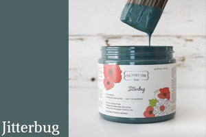 Jitterbug Chalk Style All-In-One Paint from Country Chic Paint - DIY eco friendly home decor paint