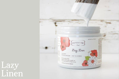 Lazy Linen Chalk Style All-In-One Paint from Country Chic Paint - DIY eco friendly home decor paint