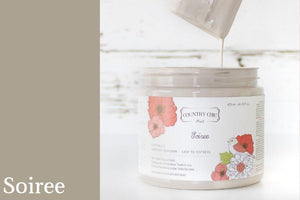 Soiree Chalk Style All-In-One Paint from Country Chic Paint - DIY eco friendly home decor paint