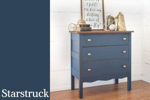 Starstruck Chalk Style All-In-One Paint from Country Chic Paint - DIY eco friendly home decor paint