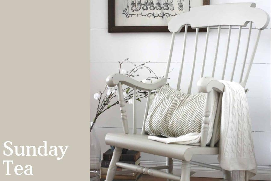 Chalk Style All-In-One Paint | Sunday Tea