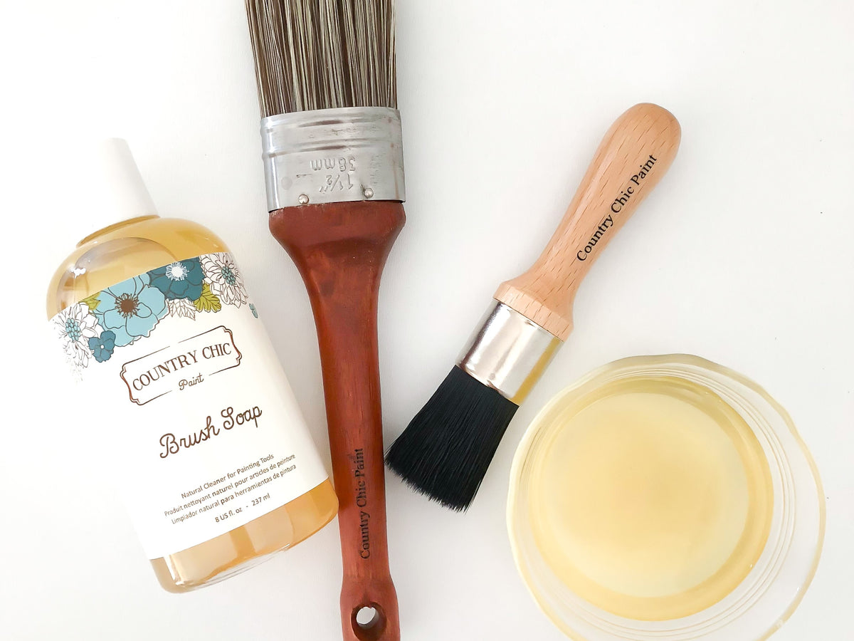 Brushes & Supplies - Brush Soap to clean your furniture paint brushes