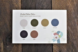 Furniture Paint - All-in-One Decor Paint - Fall/Winter Limited Edition Colors 2018 - Country Chic Paint - Paint for a Cure - Cancer Ribbon Awareness - Donate to cancer research foundations