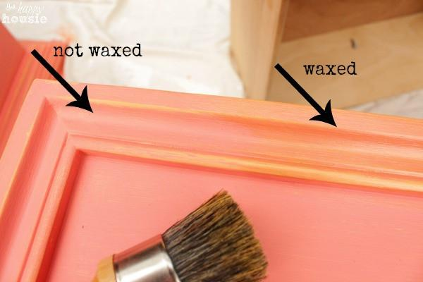 Furniture Wax - Gold Wax for DIY chalk and clay furniture paint projects