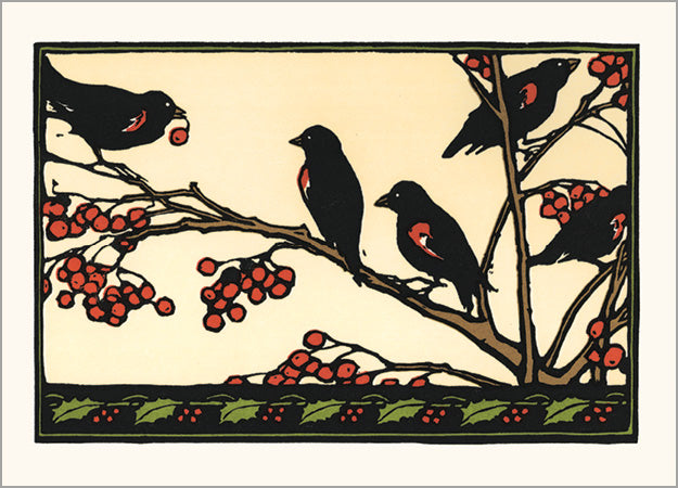 Five Little Black Birds
