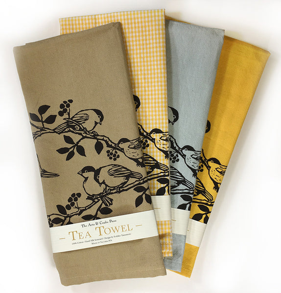 Chickadees Tea Towel Assortment