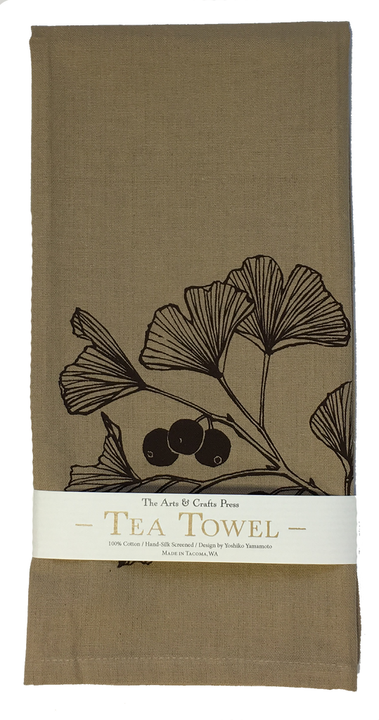 Ginkgo Tea Towel