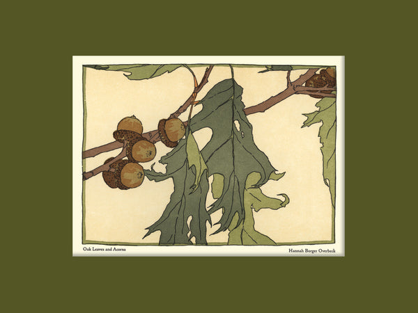 Overbeck - Oak Leaves & Acorns