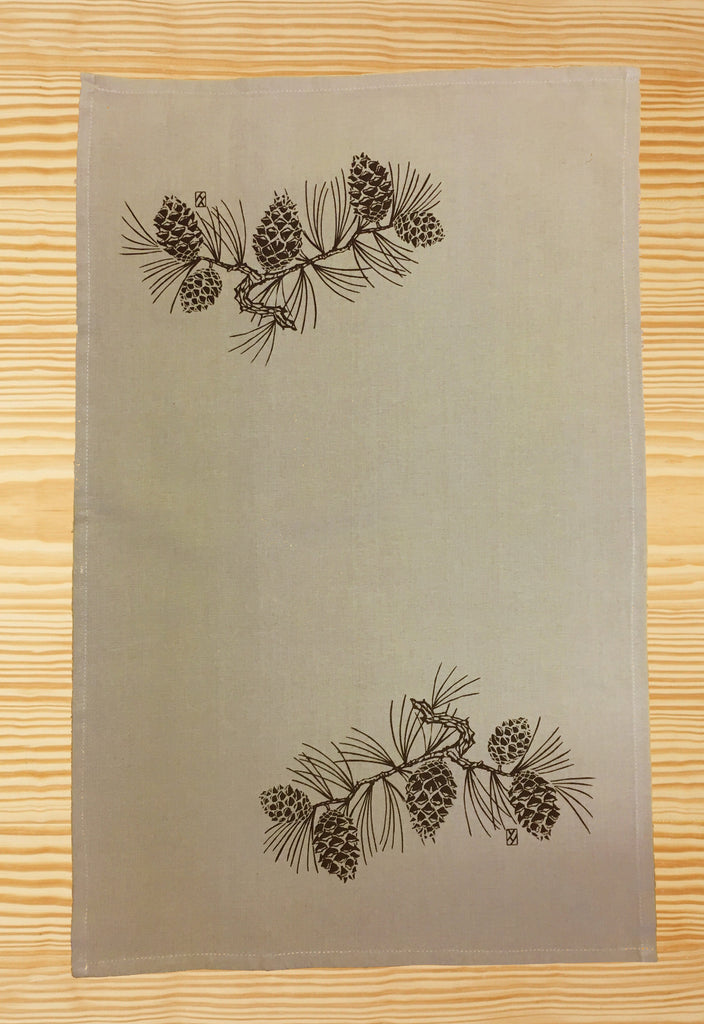 Pine Cone Tea Towel Assortment
