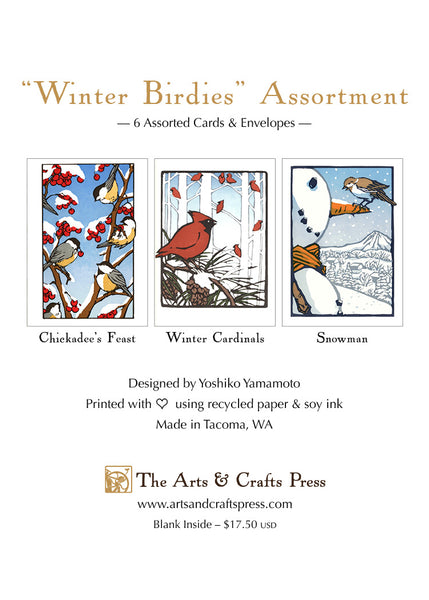 Winter Birdies Assortment
