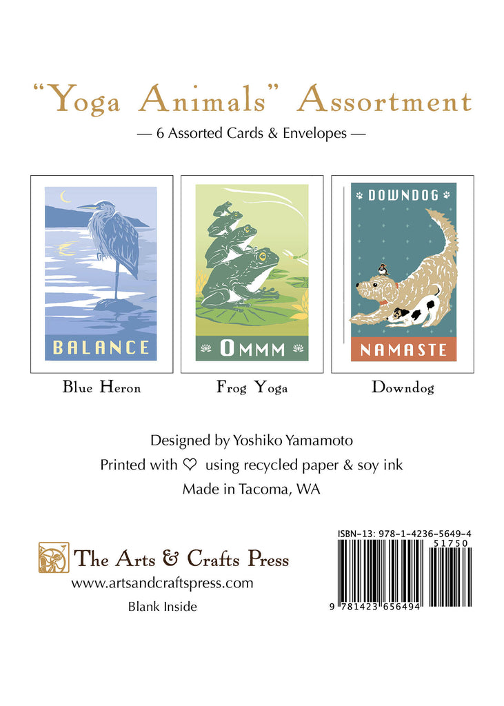 Yoga Animal Assortment