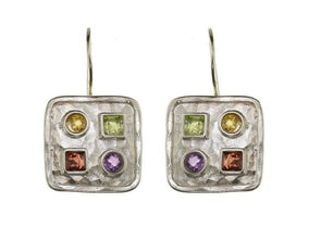 In Good Shape Sterling Silver Earrings