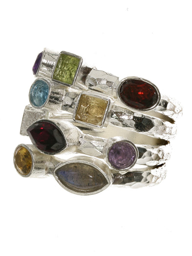 Color My Love Sterling Silver Ring