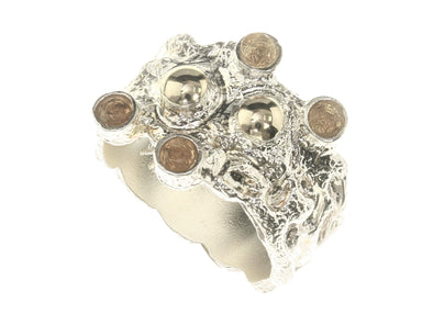All About Texture Sterling Silver Ring
