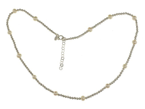 Pearl Girl Sterling Silver Necklace