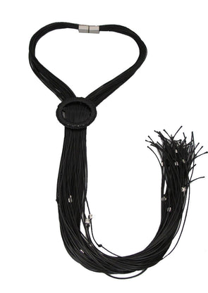 Long, Black and Beautiful Necklace