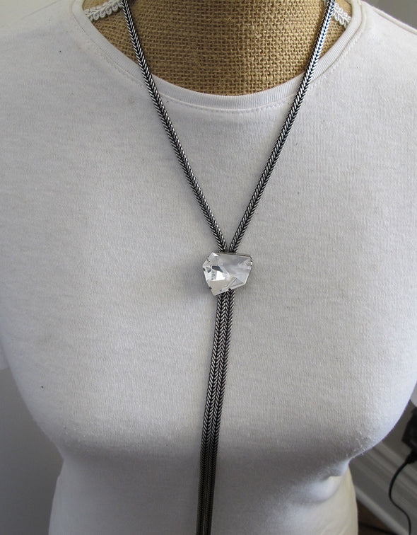 All That's Crystal Clear Necklace