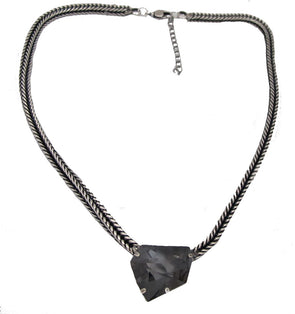 Put A Dent In It Crystal Necklace