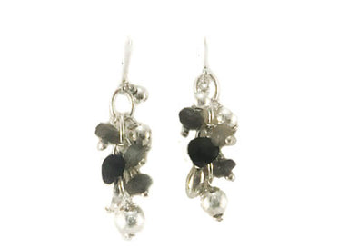 Casade Of Onyx and Tourmaline Earrings