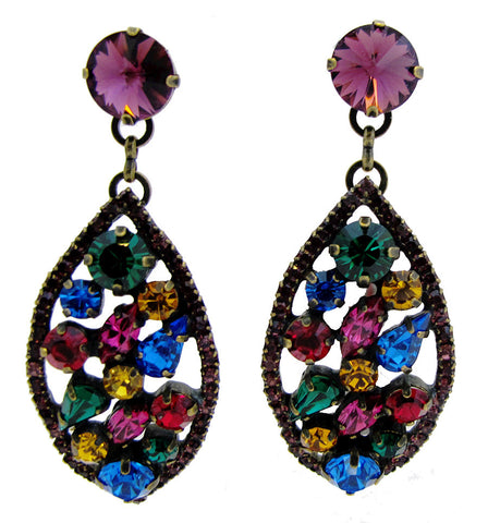 Bejewelled Statement Earrings