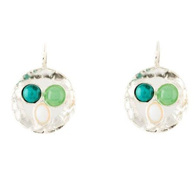 Green Eyed Earrings