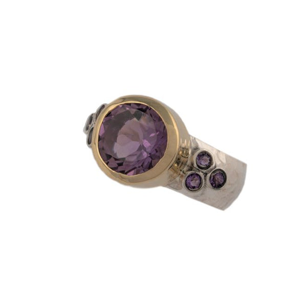 Purple Punch Amethyst Ring