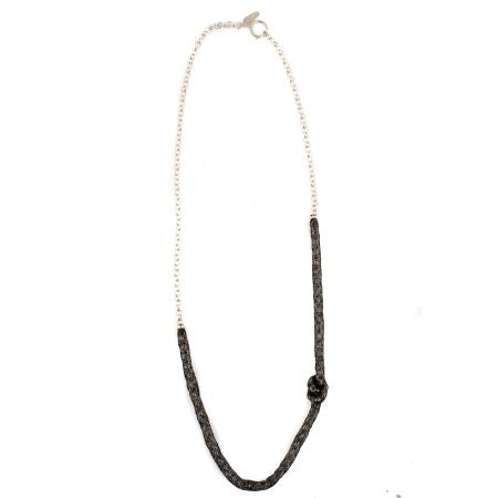 So Meshed Up Necklace