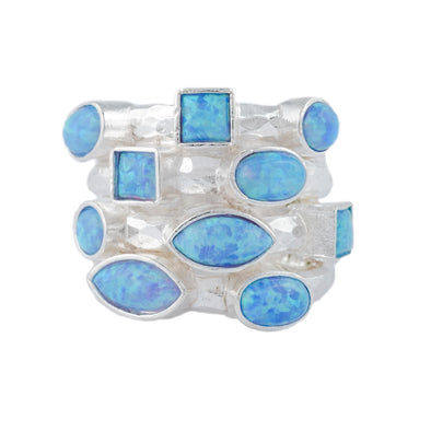Blue is Beautiful Sterling Silver Ring