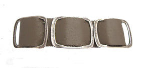 Taupe Leather Bracelet