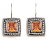 Dot to Dot Amber Earrings