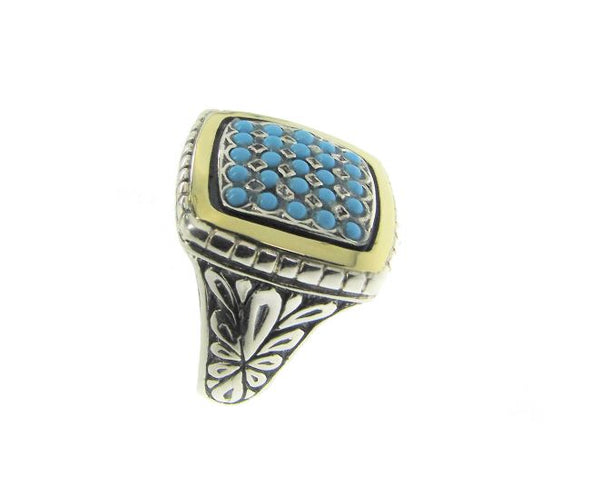 Everyone Loves Turquoise Sterling Silver Ring