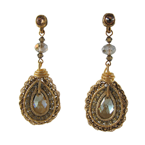 Enchanted Earrings - Antique Gold