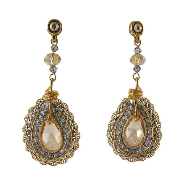 Enchanted Earrings - Silver/Gold