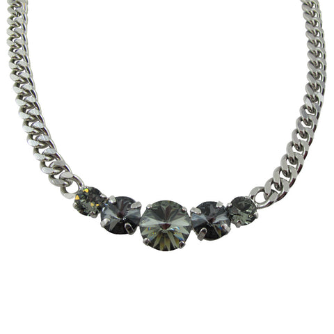 Simply Divine Necklace - Black Diamond