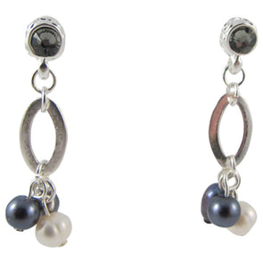 Pretty in Pearl Drops - Silver