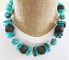 Lava Rock Statement Necklace