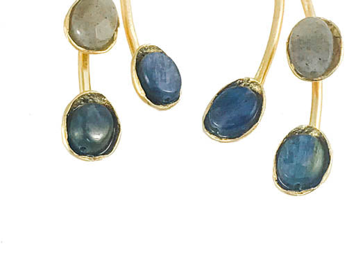 Blue is Beautiful Statement Earrings