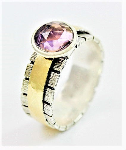 Facet That Amethyst  Ring