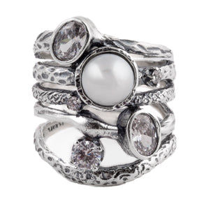 Combination Sterling Silver Ring