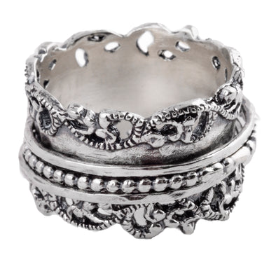 Carmiel Sterling Silver Spinning Ring