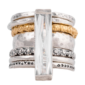 The Ultimate Stackable Sterling Silver Ring