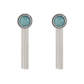 Metula Chalcedony Earrings