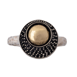 Spinel Sterling Silver Ring