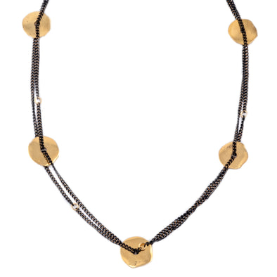 Gold Circles of Life Necklace